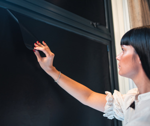 Apply sheets in minutes to black out any window, sheets can also overlap or be cut to fit any window.